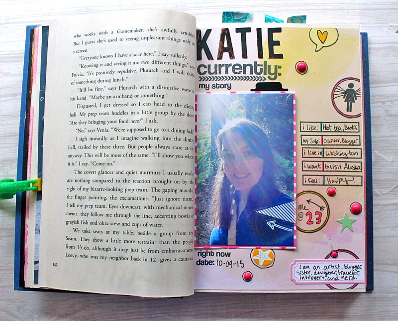 Katie Smith Currently art journal