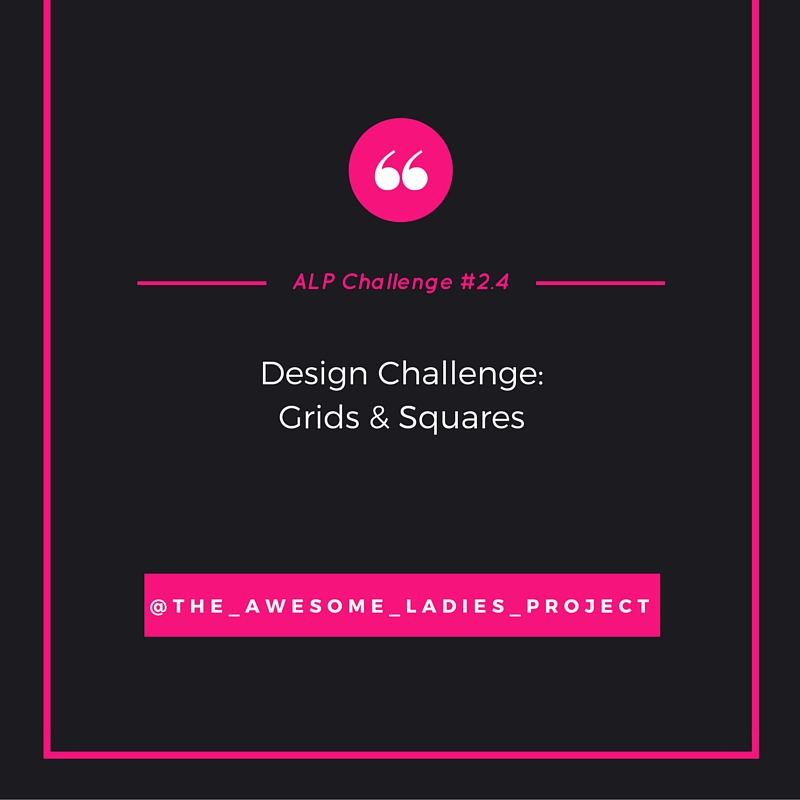AWESOME LADIES CHALLENGE #2.4