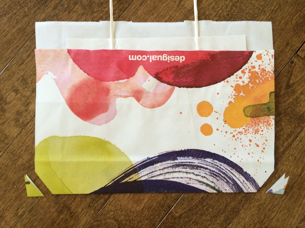 Vanessa DIY Shopping Bag Envelope Tutorial for rukristin