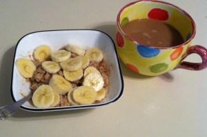 Banana bread oats