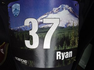 Mt Hood 50k Race Bib