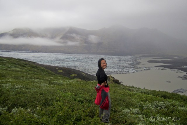 Vatnajokull Glacier and Me in Iceland