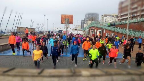 1st Winter Training Run, Sunday 30th November