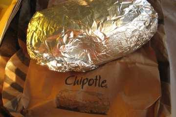 Post race Saturday - Burritos and funnel cake