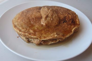 Pancakes and Almond Butter