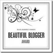 beautiful blogger award Lunch Switch and Beautiful Blogger Award