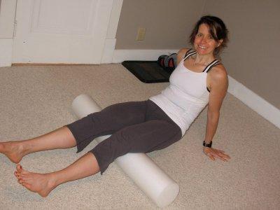 foam roller 400x300 Guest Post: Heather Eats Almond Butter