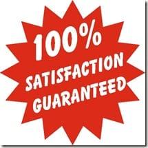 100SatisfactionGuaranteed thumb Satisfaction Guaranteed