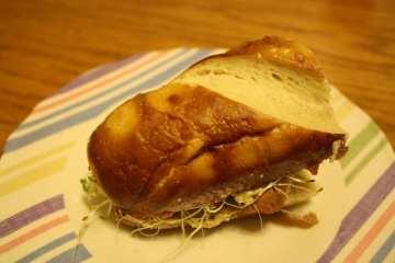 Pretzel Sandwich