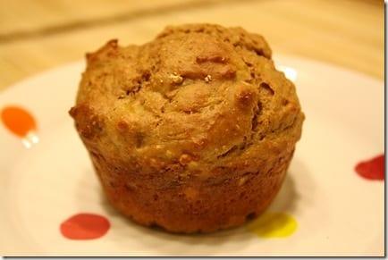 IMG 1395 thumb Banana Peanut Flour Muffins