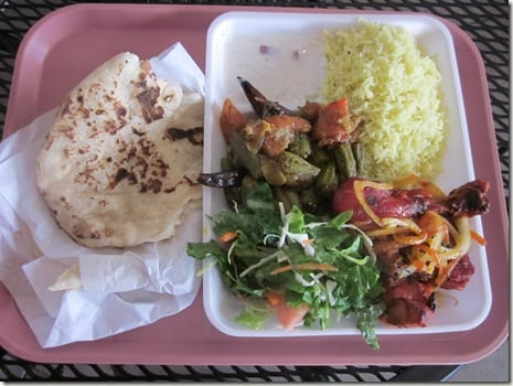 IMG 5473 thumb Wordless Wednesday: Indian Food and Getting Wet