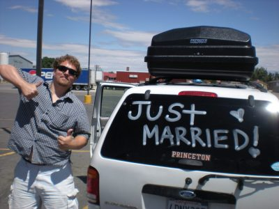 just married sign 400x300 Ben