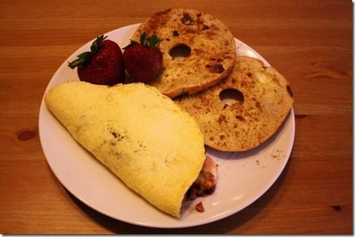 IMG 0429 1024x683 thumb Peanut Butter and Jelly Omelet