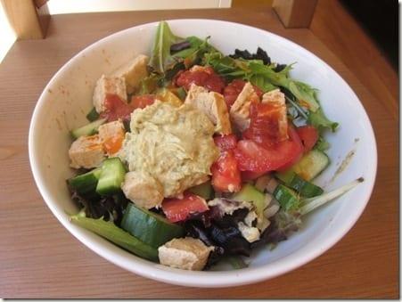 IMG 1027 800x600 thumb Three Sauce Salad and Fitbloggin Friday