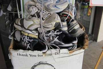 Recycle Your Running Shoes