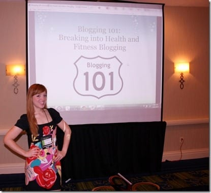 IMG 0962 800x532 thumb Blogging 101 at Fitbloggin Conference