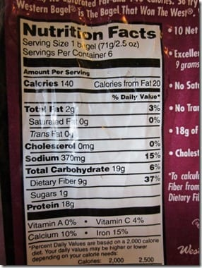 IMG 4182 800x600 thumb High Protein Breakfast Bagel