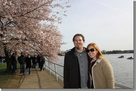 monica and ben cherry blossom thumb Monica and Maryland