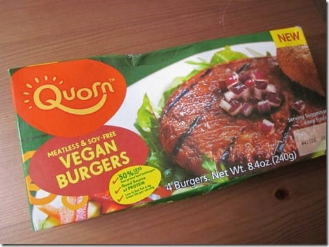 IMG 6604 800x600 thumb Meatless Monday Giveaway–Quorn Vegan Burger