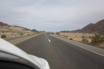 Driving to Las Vegas