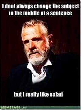 i like salad thumb Ask a Monican #30