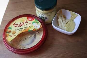 Garlic Hummustard and Shamu