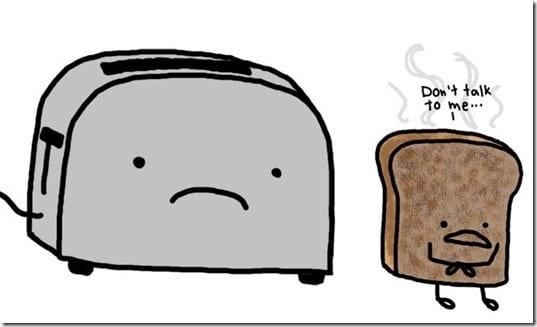 burnt toast thumb Thankful Not So Thankful Thursday