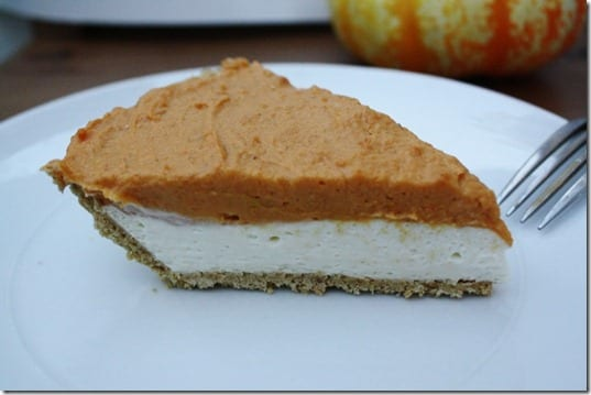 IMG 9289 800x533 thumb No Bake Pumpkin Cheesecake Recipe