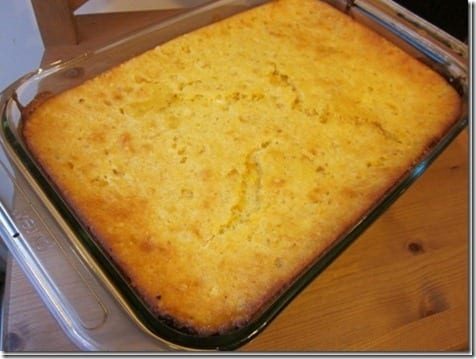 cornbread casserole recipe thumb Sunday Set Up For Thanksgiving