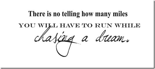 there is no telling how many miles thumb1 2012 Runner Gift Guide