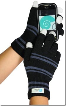 touch screen gloves thumb 2012 Runner Gift Guide