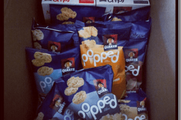 Quaker Popped Snacks Giveaway