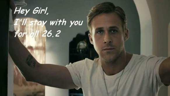 ryan gosling marathon Love 'em OR Leave 'em?