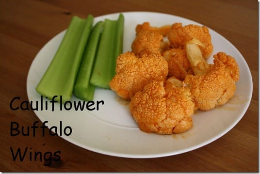 Cauliflower Buffalo Wings thumb Roasted Cauliflower Buffalo Wings Recipe