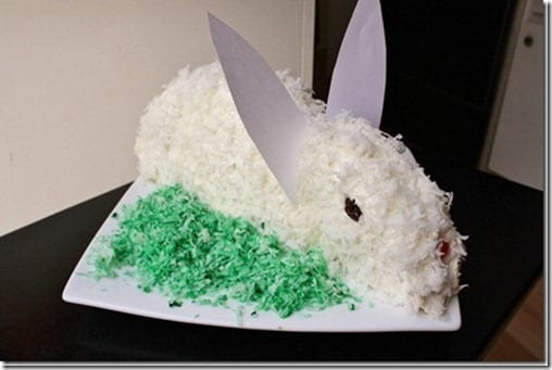 how to make an easter bunny cake recipe thumb Easter Recipes