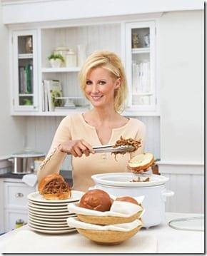 sandra lee in the kitchen thumb Pistachio Pudding Pie Recipe