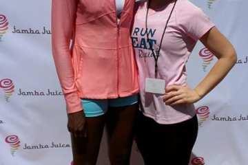 Jamba Juice Fitrends Expo with Venus Williams