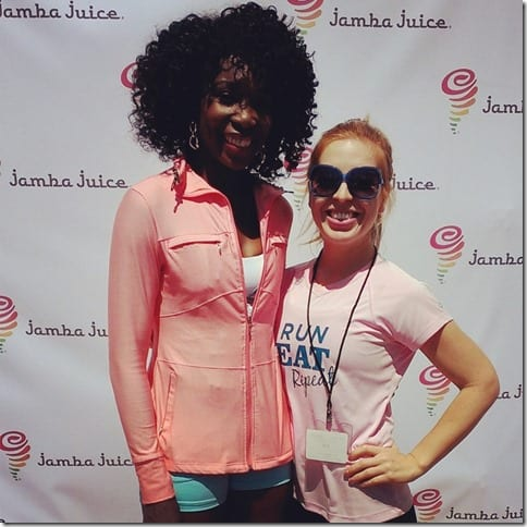 IMG 20130425 140600 800x800 thumb Jamba Juice Fitrends Expo with Venus Williams