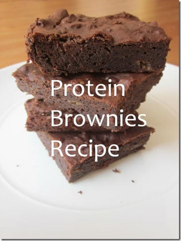 protein brownies recipe thumb Protein Brownies Recipe