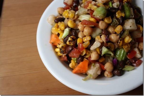 IMG 2189 800x533 thumb Confetti Salad Recipe – Black Bean and Corn