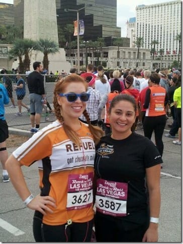las vegas marathon race with susan thumb National Running Day–Come Run with me