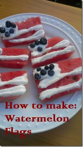 watermelon flags recipe how to make thumb How to Make Watermelon Flags
