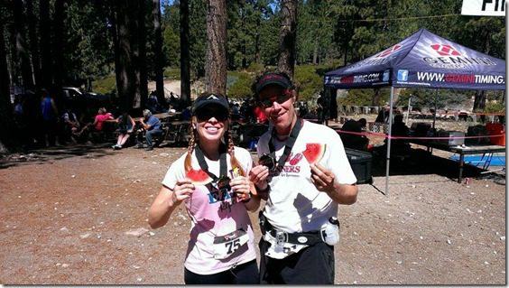 finish line in half marathon in snow valley 800x450 thumb Xterra Snow Valley Trail 21K Race Recap