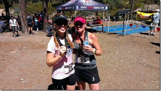 post race with gillian half marathon xterra 800x450 thumb Xterra Snow Valley Trail 21K Race Recap