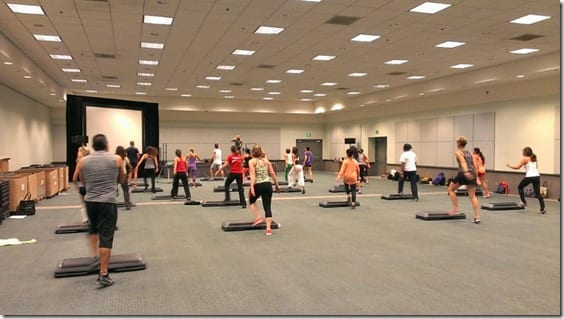 step class at idea fit 800x450 thumb Thursday at IDEA Fit Conference