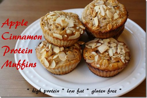 apple cinnamon protein muffins recipe thumb Apple Cinnamon Protein Muffins Recipe