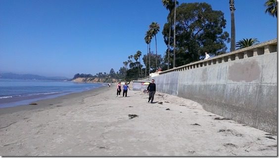 beach in santa barbara with bob greene and omron 800x450 thumb 13 reasons I Love Half Marathons on Friday the 13th