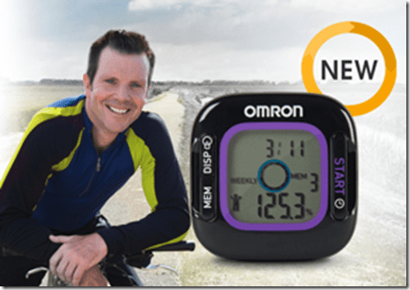 bob green and the weight loss tracker thumb GIVEAWAY   Weight Loss Tracker and Pedometer from Omron