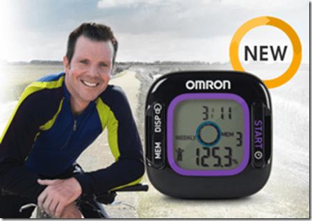 bob green and the weight loss tracker thumb GIVEAWAY   Weight Loss Tracker and Pedometer from Omron