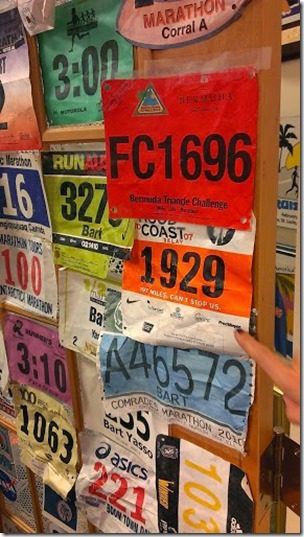 bart yassos bibs 287x510 thumb Runners World Office Tour